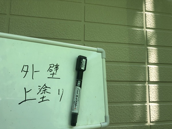 東京都町田市 外壁塗装 屋根塗装 付帯部塗装 上塗り (1)