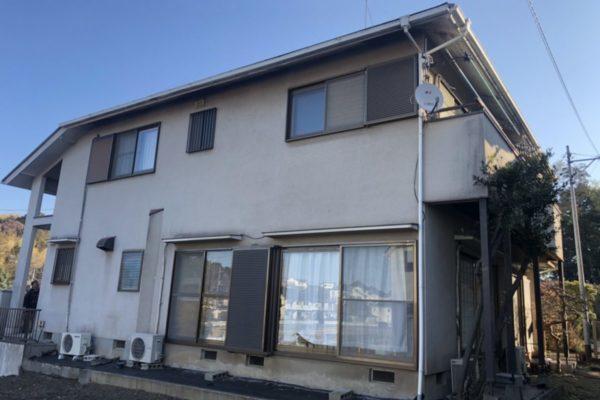 横浜市都筑区 外壁屋根付帯部塗装 コーキング工事 (1)