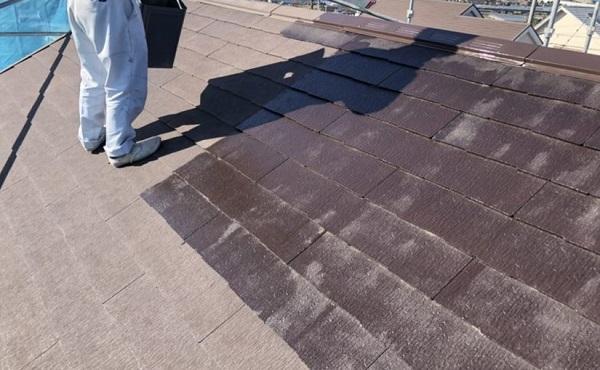 東京都町田市 屋根塗装 化粧スレート屋根とは 下塗り