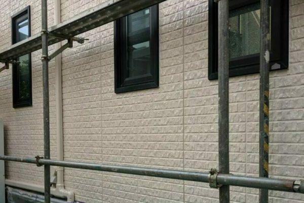 横浜市青葉区 T様邸 外壁塗装 日本ペイント パーフェクトトップ (2)