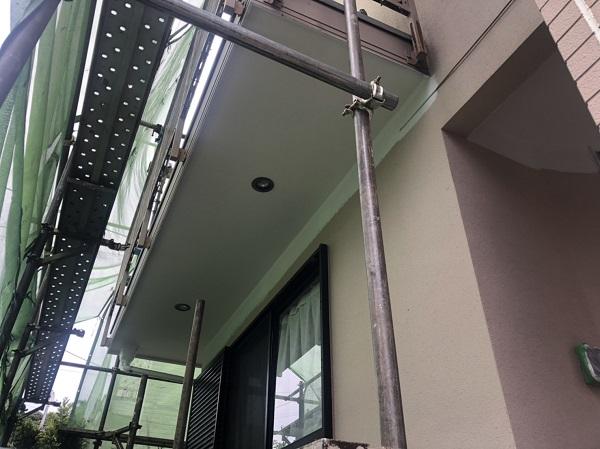 東京都町田市 外壁塗装 屋根塗装 付帯部塗装 足場の設置 飛散防止ネット 養生