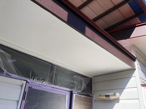 東京都町田市 外壁塗装 屋根塗装 付帯部塗装 軒天 日本ペイント ケンエースG-Ⅱ (1)