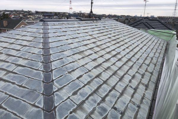 横浜市都筑区 K様邸 屋根塗装・外構塗装 (1)