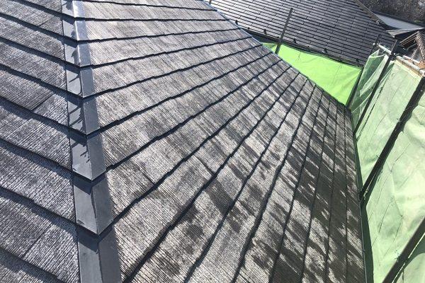 東京都町田市 屋根塗装 化粧スレート屋根 屋根・外壁0円診断 高圧洗浄作業