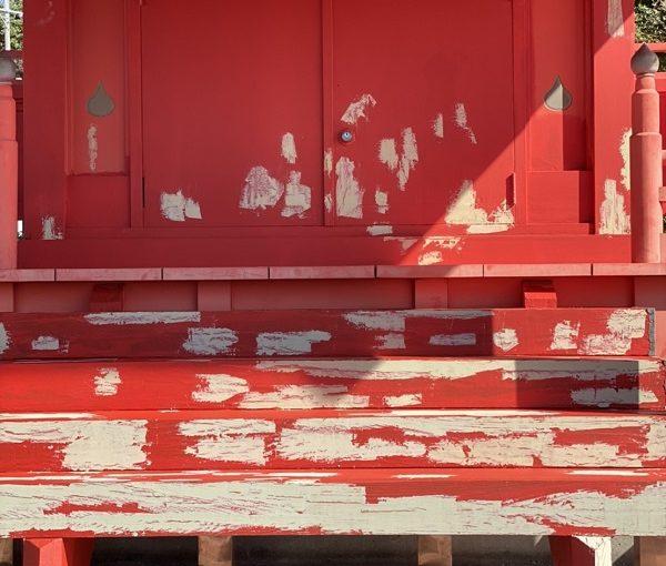 東京都町田市 神社・鳥居塗装 施工後 (3)