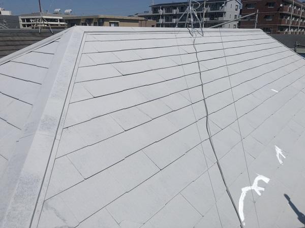 東京都町田市 屋根塗装 下塗り 縁切りの重要性 タスペーサーの設置