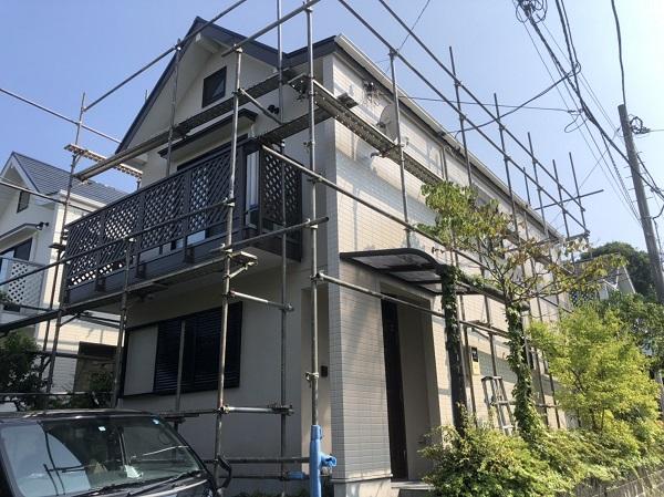 東京都町田市 外壁塗装 屋根塗装 付帯部塗装 完工 定期訪問サポート (1)