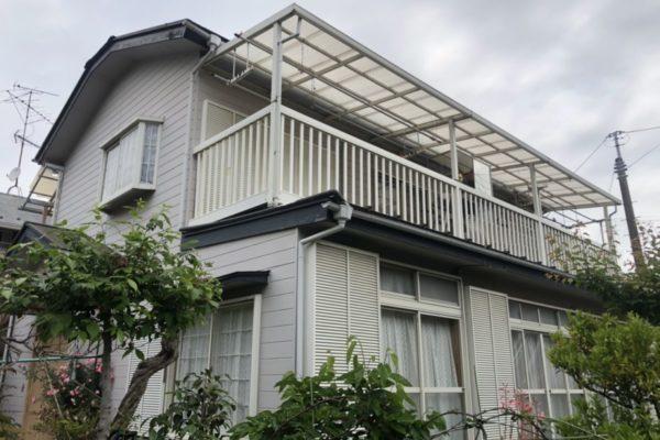横浜市港北区 外壁屋根付帯部塗装 ファインシリコンセラUV パラサーモ (1)