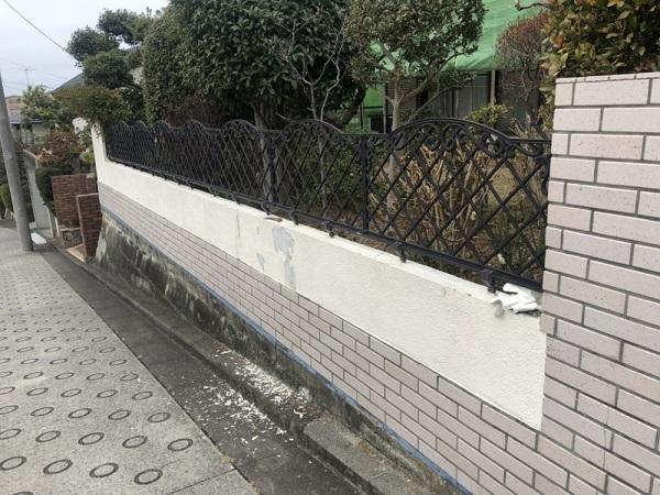 横浜市都筑区 K様邸 屋根塗装・外構塗装 (2)