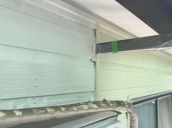 東京都町田市 外壁塗装 屋根塗装 付帯部塗装 中塗り 日本ペイント パーフェクトトップ ラジカル制御式 (3)
