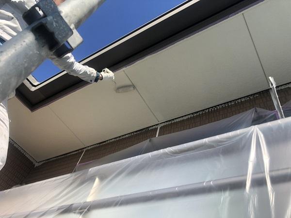 東京都町田市 軒天塗装 軒天の劣化を放置するとどうなるか 塗装の手順 (2)
