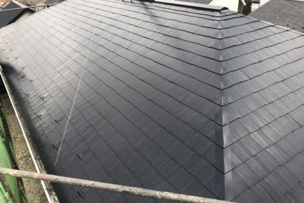 横浜市都筑区 K様邸 屋根塗装・外構塗装 (3)