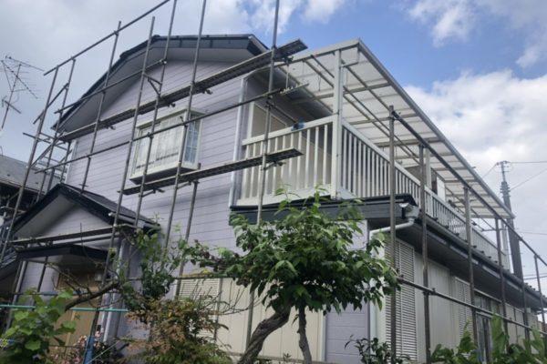 横浜市港北区 外壁屋根付帯部塗装 ファインシリコンセラUV パラサーモ (2)