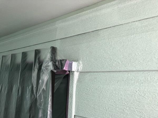 東京都町田市 外壁塗装 屋根塗装 付帯部塗装 中塗り 日本ペイント パーフェクトトップ ラジカル制御式 (2)