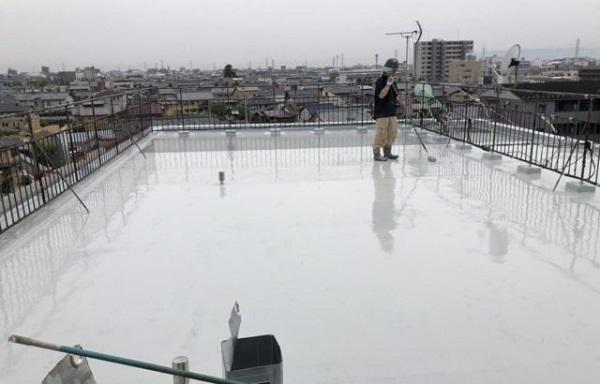 東京都町田市 屋上 点検 ウレタン防水