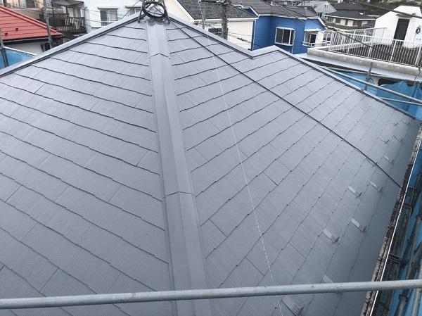 東京都町田市 屋根塗装 化粧スレートの塗装 タスペーサー設置 縁切りとは (5)
