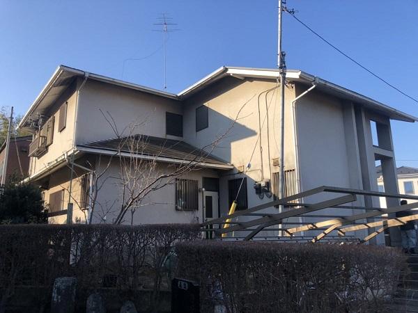 横浜市都筑区 外壁屋根付帯部塗装 コーキング工事 (2)