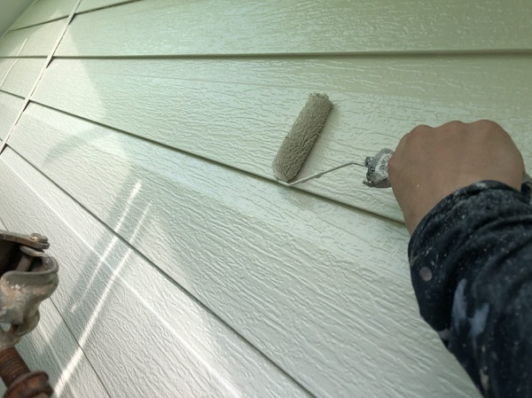 東京都町田市 外壁塗装 屋根塗装 付帯部塗装 上塗り (2)