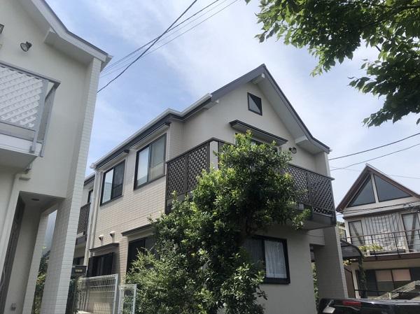 東京都町田市 外壁塗装 屋根塗装 付帯部塗装 完工 定期訪問サポート (2)