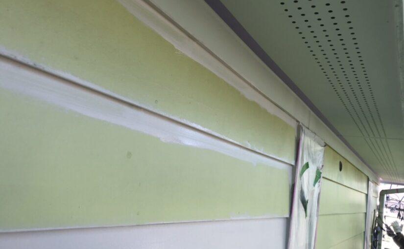 東京都町田市 外壁塗装 下塗りの役割 最後にクリアー塗料で仕上げ 日本ペイント ピュアライドUVプロテクトクリアー (2)