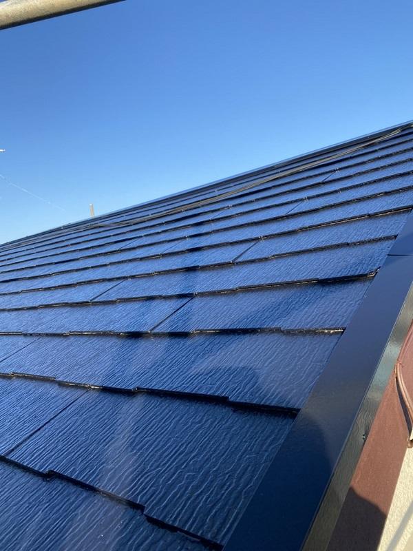 東京都町田市 屋根塗装 遮熱塗料 水谷ペイント 快適サーモ 雪止めの設置 (4)