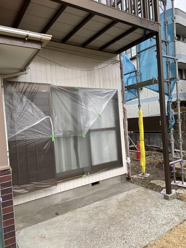東京都町田市 外壁塗装 下地処理 養生の重要性 (1)