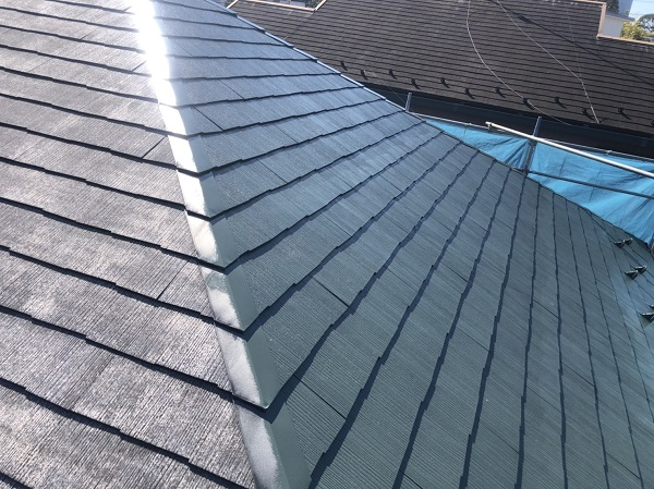 東京都町田市 屋根塗装 屋根塗装の手順 天窓のシーリング工事の注意点 (2)