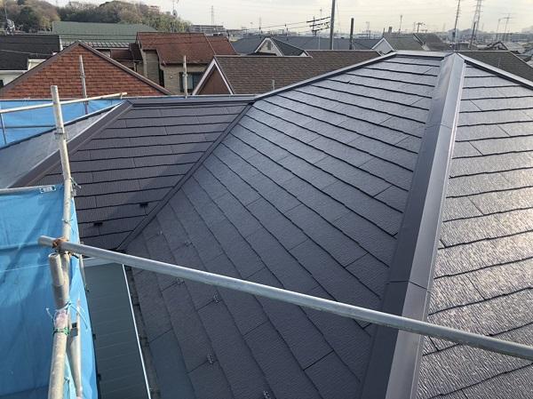 東京都町田市 屋根塗装 カラーシュミレーション 日本ペイント パーフェクトトップ ラジカル制御式 (3)
