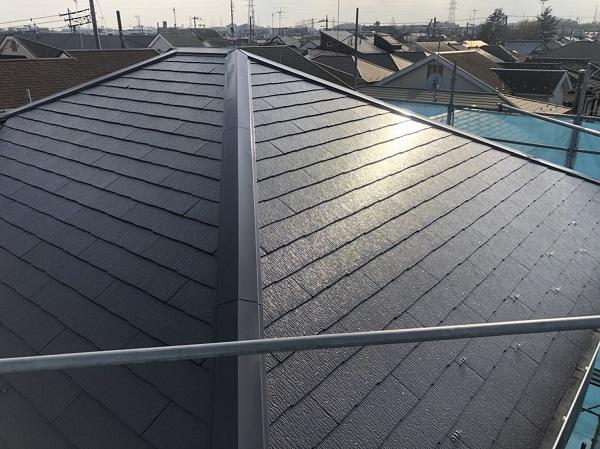 東京都町田市 屋根塗装 カラーシュミレーション 日本ペイント パーフェクトトップ ラジカル制御式 (2)