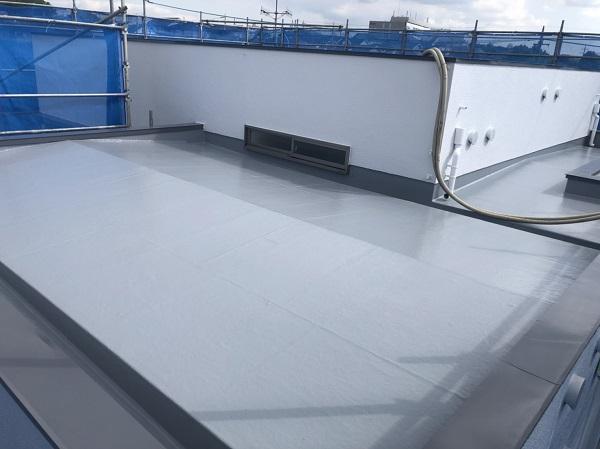 東京都町田市 屋根塗装 防水工事 FRP防水とは トップコート (3)