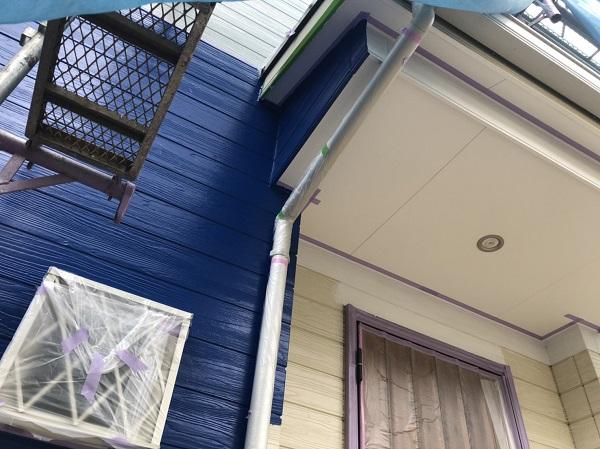 東京都町田市 外壁塗装 木目調サイディング エスケー化研 プレミアムシリコン ラジカル制御式