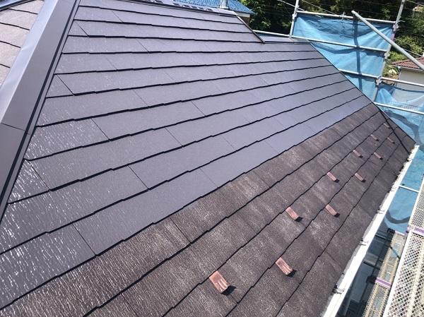 東京都町田市 屋根塗装 化粧スレート屋根 タスペーサー、縁切りとは (3)