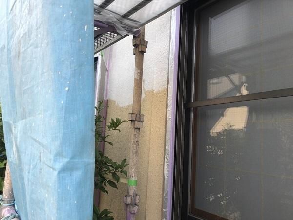 東京都町田市 外壁塗装 モルタル外壁 水谷ペイント ナノコンポジットW (2)