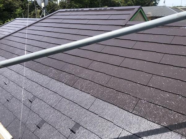 東京都町田市 屋根塗装 化粧スレート屋根 タスペーサー、縁切りとは (2)