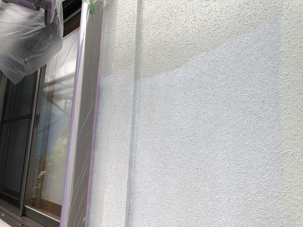 東京都町田市 外壁塗装 モルタル外壁 水谷ペイント ナノコンポジットW (1)