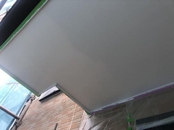 東京都町田市 外壁塗装・付帯部塗装 軒天・破風・雨樋塗装  (2)