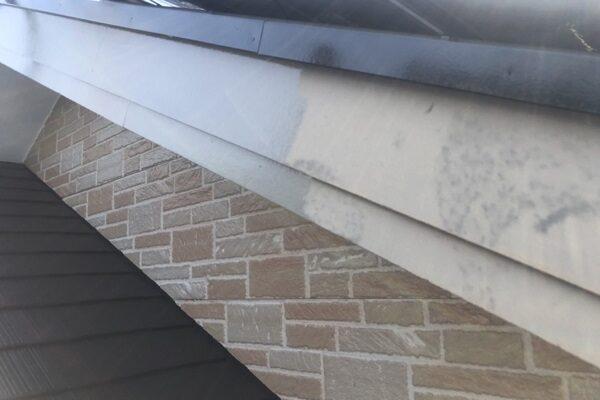 東京都町田市 外壁塗装・付帯部塗装 軒天・破風・雨樋塗装  (1)