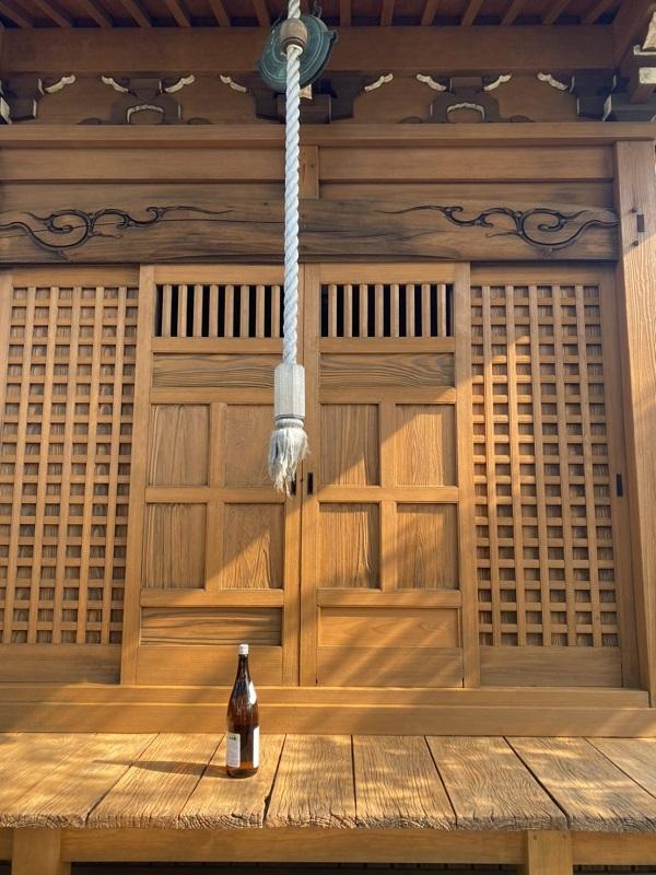 東京都町田市 社殿塗装 寺社建築物専用木材保護塗料 完工 (4)