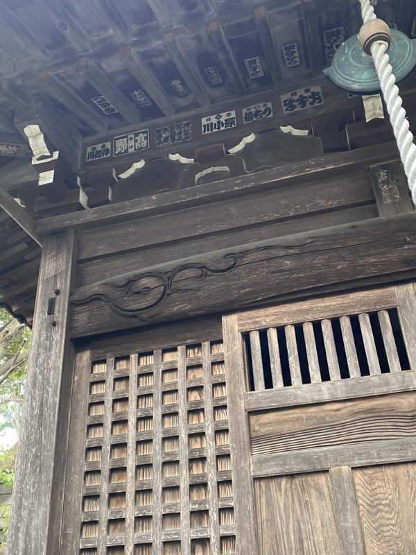 東京都町田市 社殿塗装 (2)