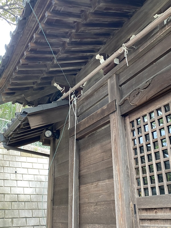 東京都町田市 社殿塗装 (4)